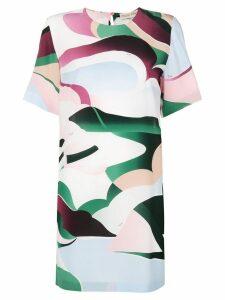 Emilio Pucci psychedelic print T-shirt dress - White
