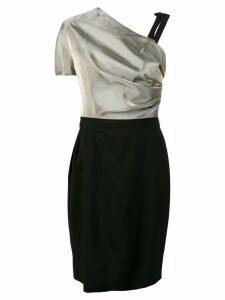 Lanvin asymmetric dress - Metallic