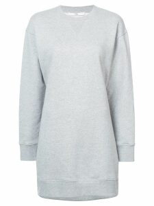Tibi open back sweatshirt dress - Grey