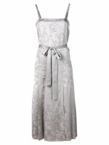 Bottega Veneta floral jacquard dress - Grey