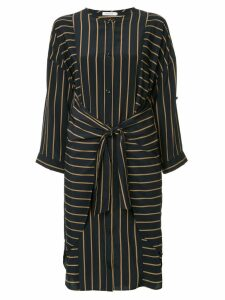 Guild Prime striped belted dress - Blue