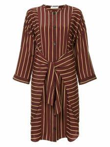 Guild Prime striped belted dress - Red