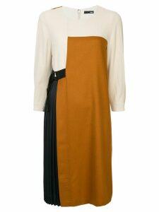 Frei Ea asymmetric belted dress - Multicolour