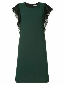 Guild Prime leopard print sleeve dress - Green