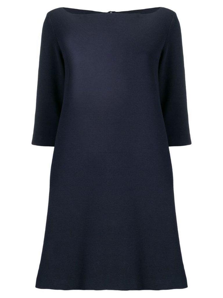 Antonelli jersey A-line dress - Blue