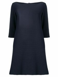 Antonelli jersey A-line dress - Blue