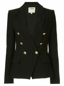 L'agence lapel detail blazer - Black