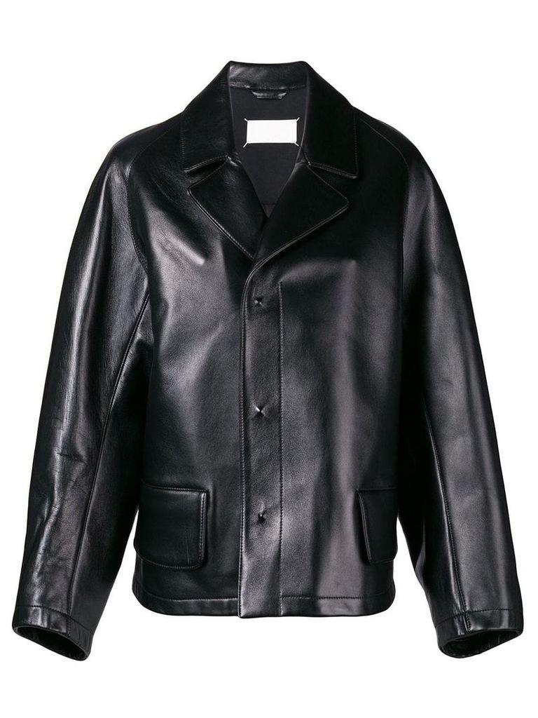 Maison Margiela classic cut jacket - Black