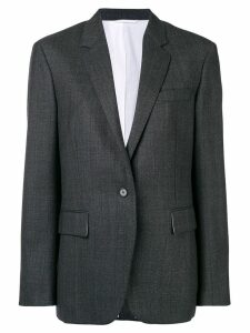 Calvin Klein 205W39nyc classic fitted blazer - Grey