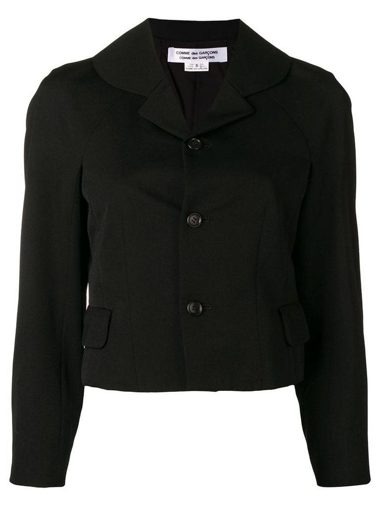 Comme Des Garçons Comme Des Garçons classic fitted blazer - Black