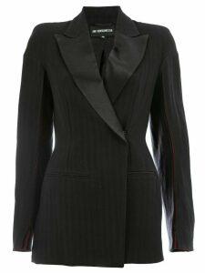 Ann Demeulemeester structured blazer - Black