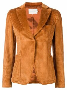 L'Autre Chose corduroy pattern blazer - Brown