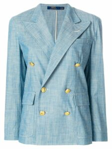 Polo Ralph Lauren double breasted blazer - Blue