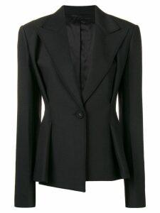 Helmut Lang peplum style blazer - Black