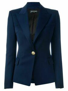 Balmain fitted blazer - Blue