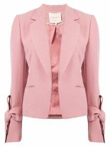 Roksanda bow cuff blazer - Pink