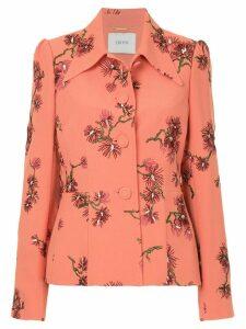 Erdem floral print suit jacket - Pink