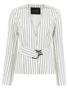 Tufi Duek striped blazer - White
