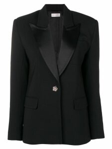 Faith Connexion jewelled button blazer - Black