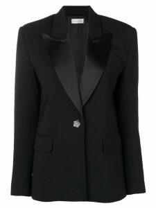 Faith Connexion jewelled button blazer - Black