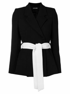 Styland belted blazer - Black