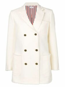 Thom Browne double-breasted sport coat - White