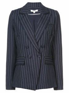 Jonathan Simkhai pinstripes structured blazer - Blue