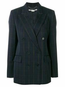 Stella McCartney checked blazer - Blue