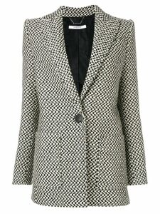 Givenchy deep V-neck blazer - Black