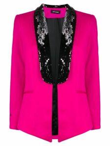Styland sequin detail blazer - Pink