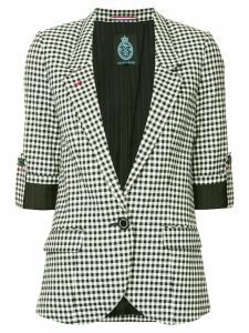 Guild Prime gingham blazer - White