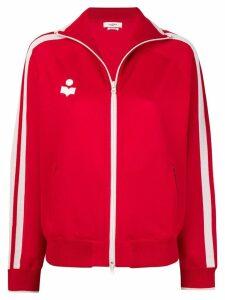 Isabel Marant Étoile side stripe track jacket - Red