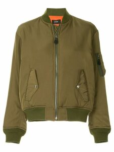G.V.G.V. lace-up MA1 bomber jacket - Green