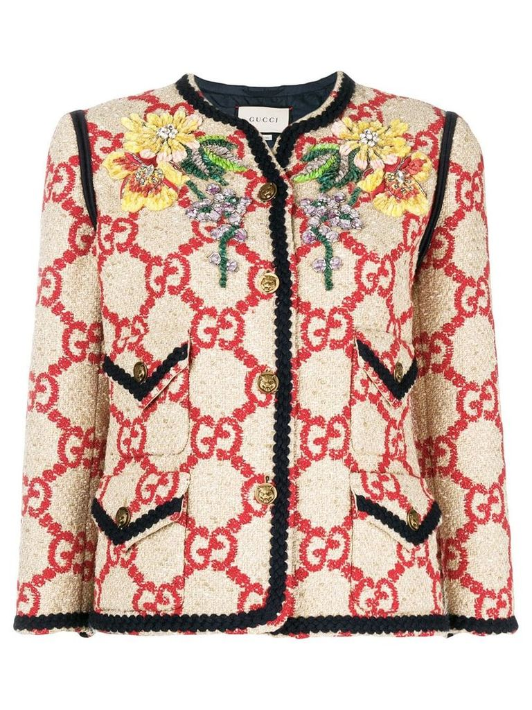 Gucci GG jacket - Neutrals