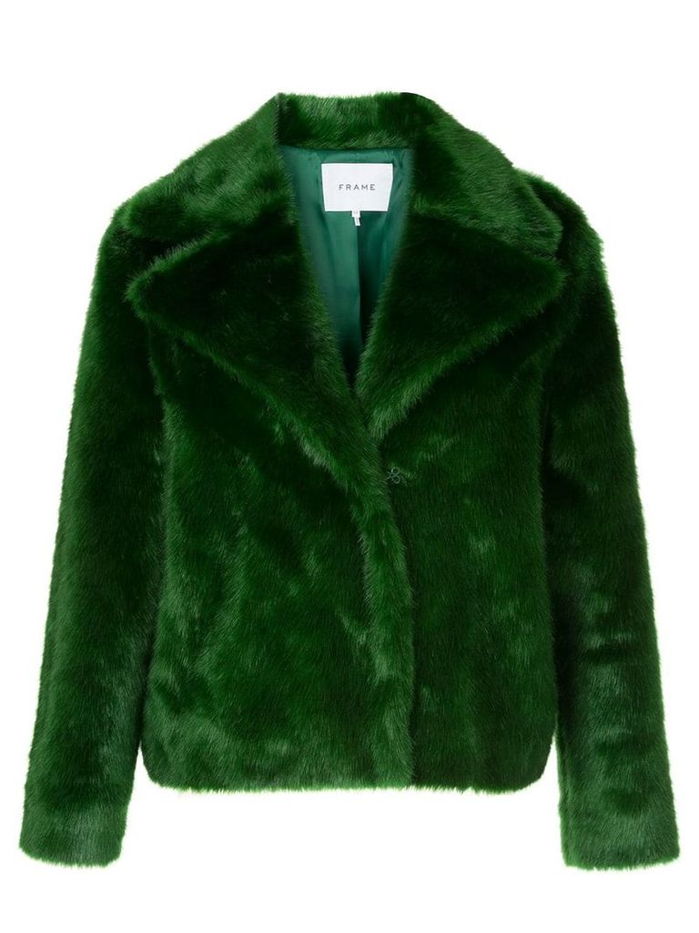 FRAME short boxy jacket - Green
