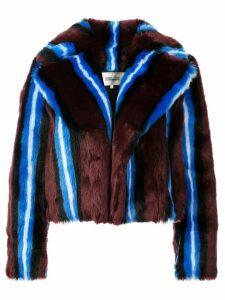 Dvf Diane Von Furstenberg faux fur coat - Pink