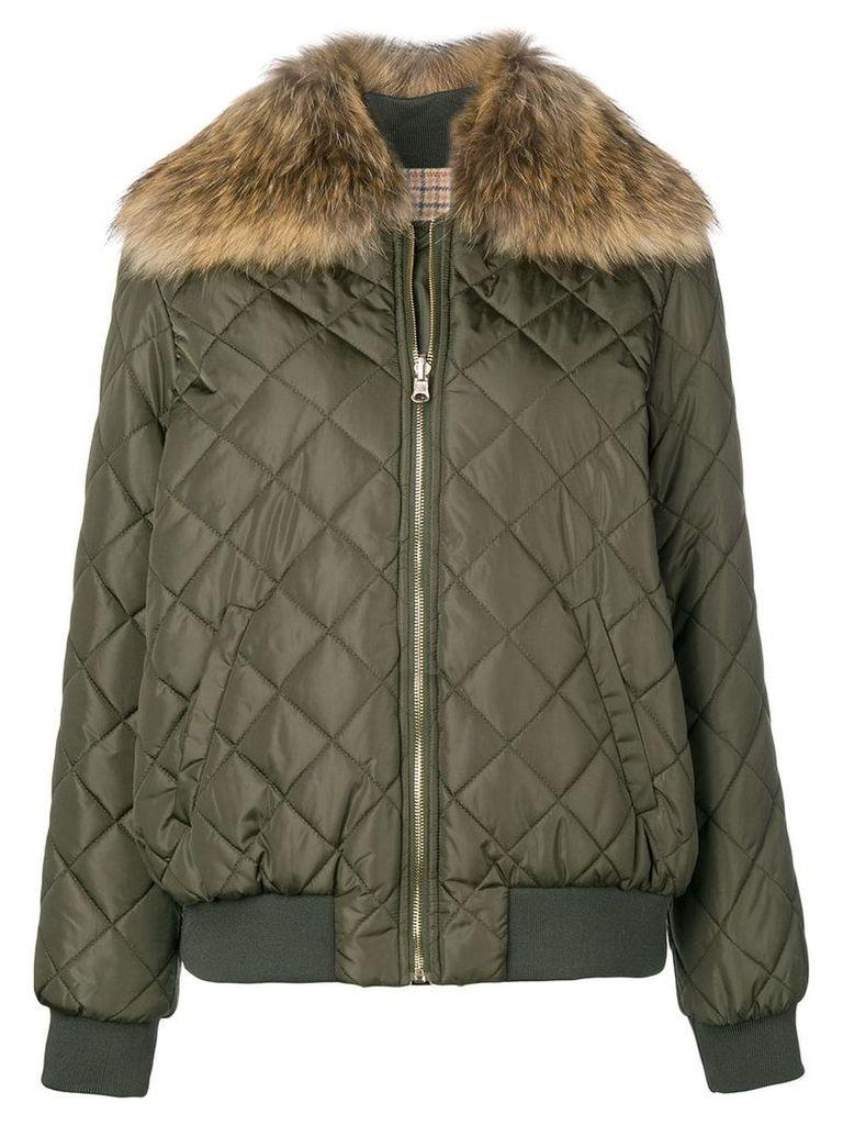 Twin-Set padded jacket - Green