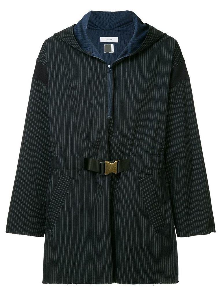 Facetasm striped pullover jacket - Blue