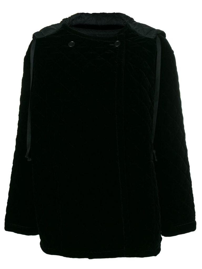 Ports 1961 quilted oversized jacket - Black