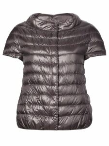 Herno shortsleeved quilted gilet - Grey