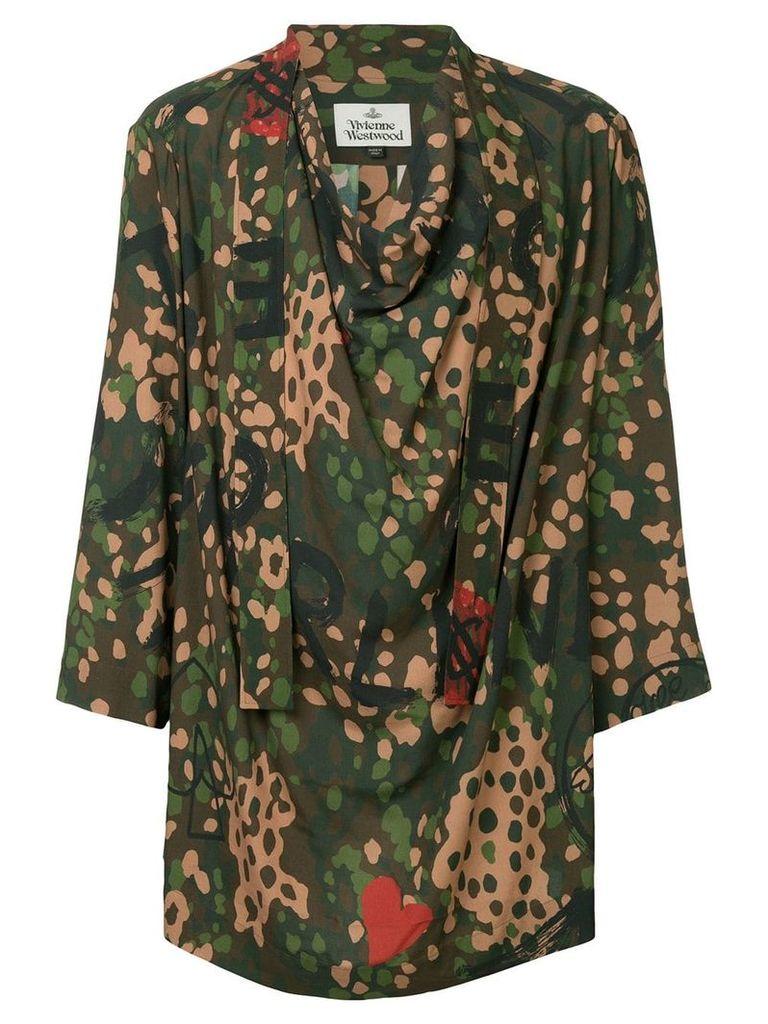 Vivienne Westwood camouflage print shirt - Multicolour