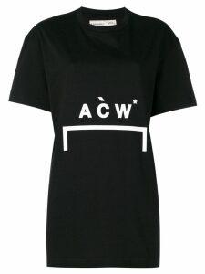 A-Cold-Wall* logo T-shirt - Black