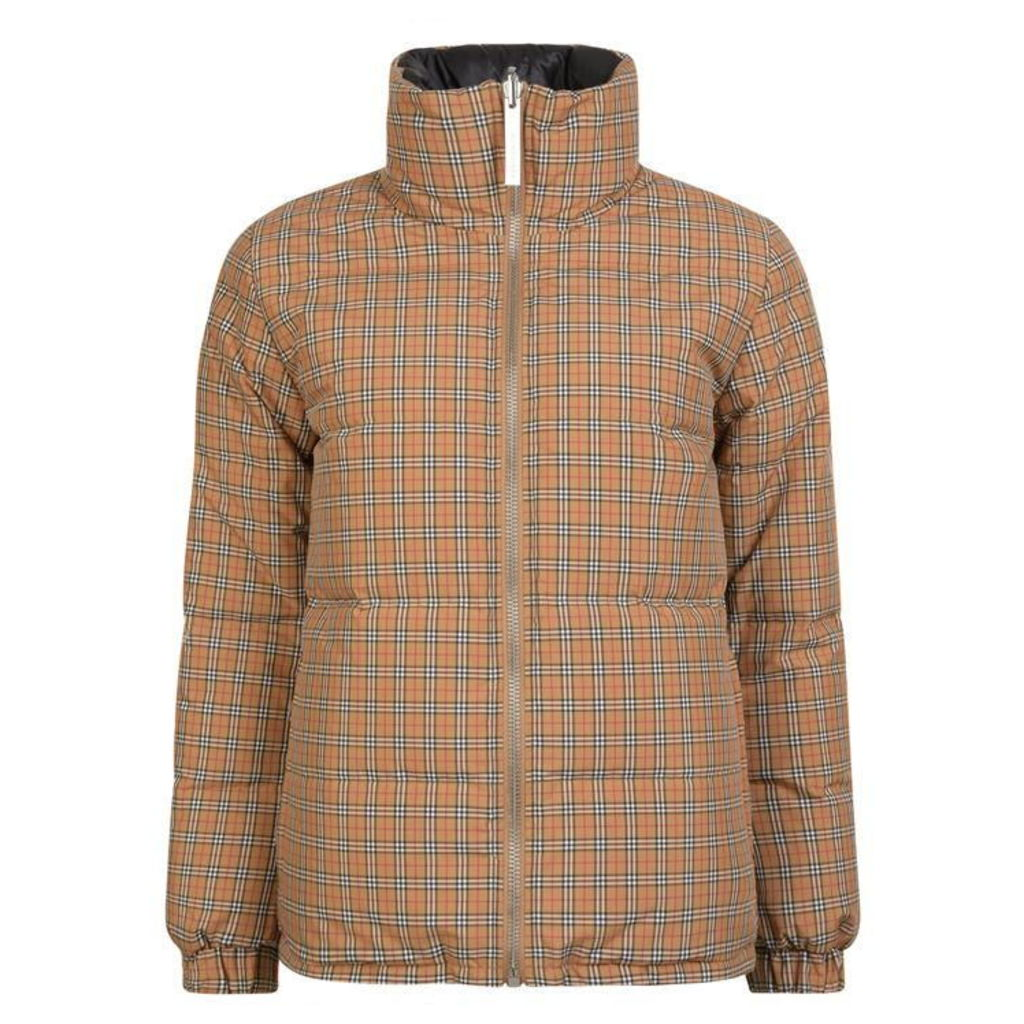 BURBERRY Reversible Vintage Check  Padded Coat
