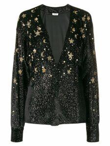 Attico embellished star body - Black