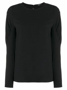 Steffen Schraut puffy sleeve blouse - Black