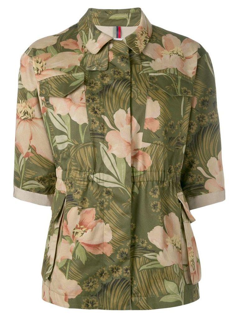 Moncler floral blouse - Green