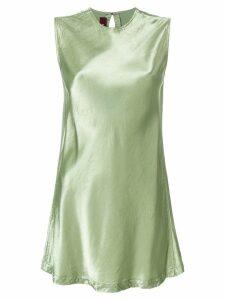 Sies Marjan metallic sleeveless blouse - Green