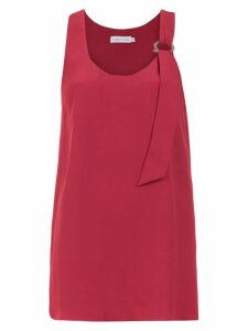 Mara Mac top with shoulder detail - Red
