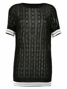 Andrea Bogosian knit blouse - Black