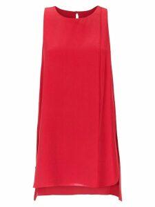 Alcaçuz Flutuante sleeveless top - Red